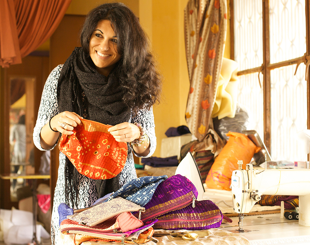 Reshma of Made with a purpose